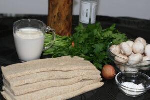 #1 ingrédients bouchées aux champignons
